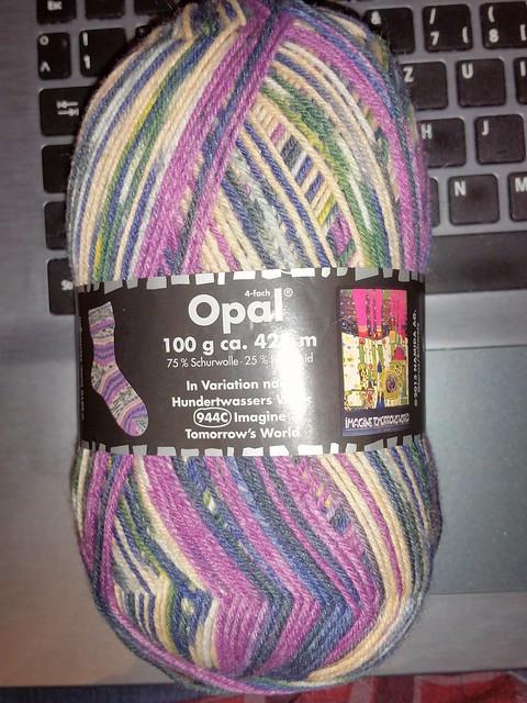 Opal Wolle Wichtelgeschenk