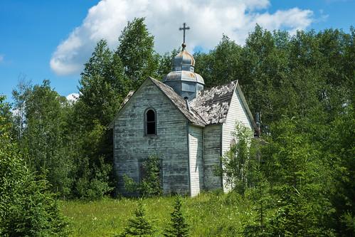 manitoba abandoned church pineriver rural canada ca