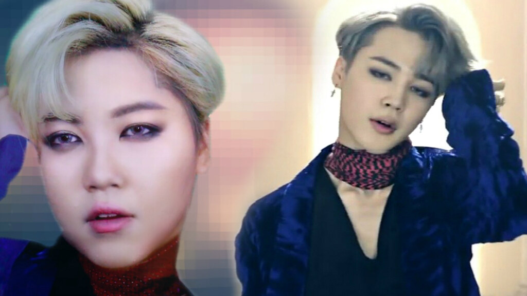 BTS JIMIN BLOOD SWEAT TEARS MAKEUP TUTORIAL A Photo On Flickriver - Bts v hairstyle tutorial