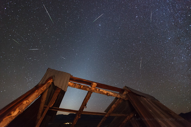 Orionid Meteors and Zodiacal Light