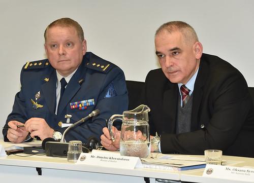Khrystoforov and COL Kovalenko
