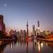 Shanghai twilight by kevinho86