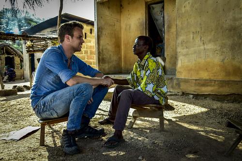 Wijnand Speelman in Ivoorkust