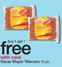 oscar mayer hot dogs at walgreens week of 8 30. Black Bedroom Furniture Sets. Home Design Ideas