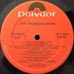 RAY,GOODMAN & BROWN:RAY,GOODMAN & BROWN(LABEL SIDE-B)
