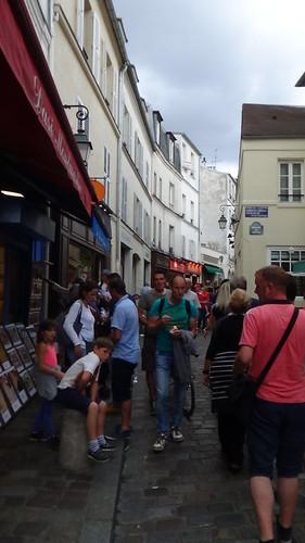 Paris Montmartre artists Aug 15 6