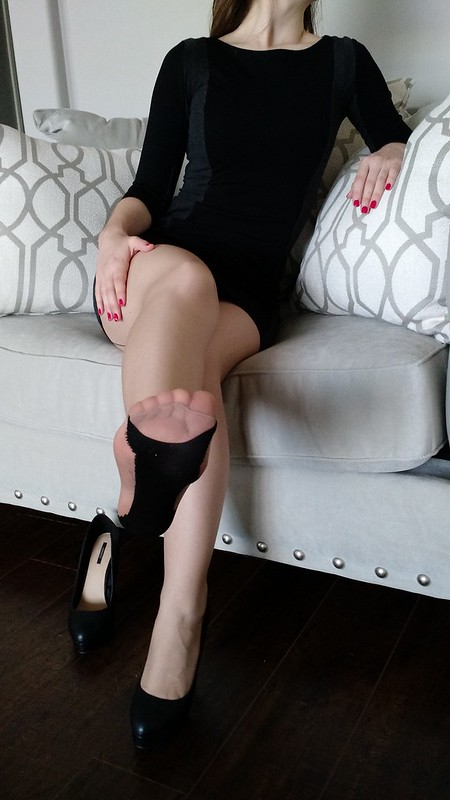 image Annabelle flowers another pantyhose foot seduction