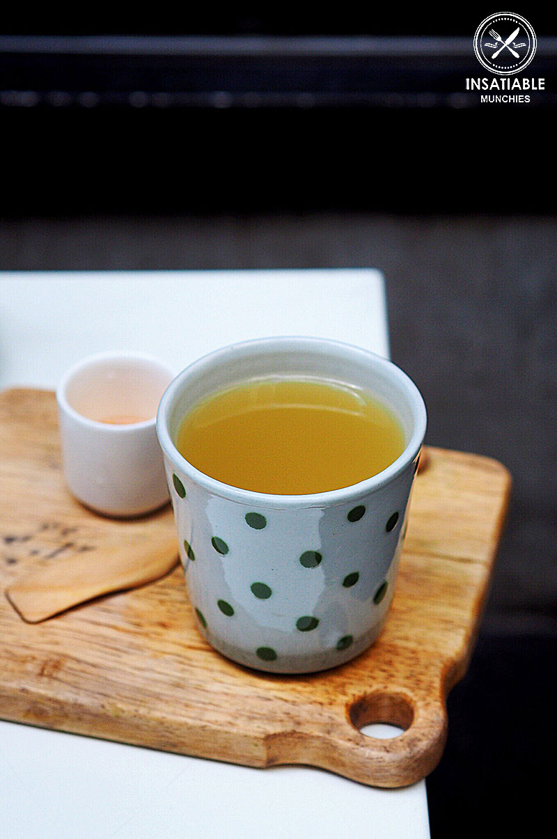 Sydney Food Blog Review of Cafe Cre Asion, Surry Hills: Yuzu Honey Tea