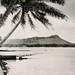 Waikiki Beach Diamond Head 1930s by Kamaaina56