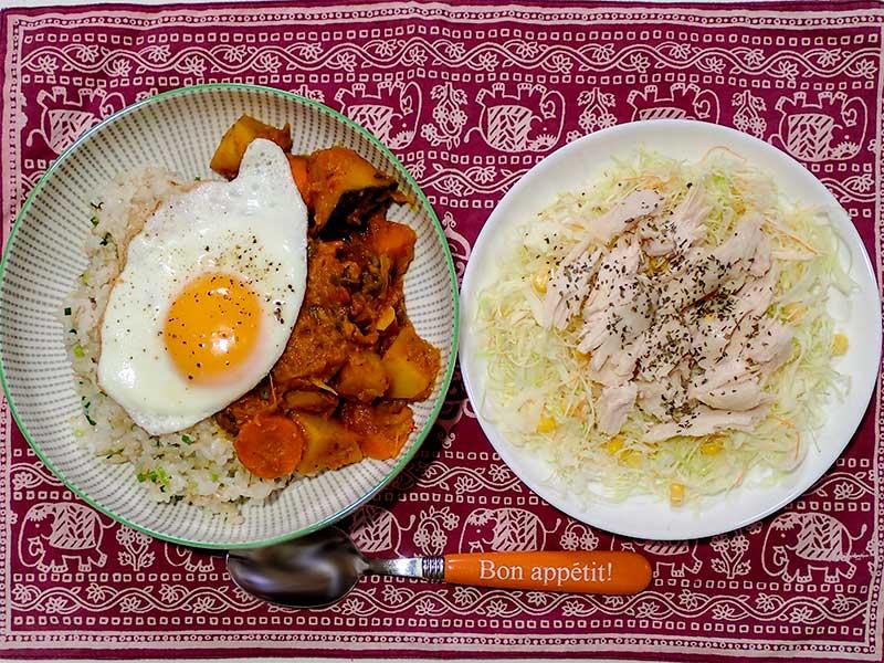 2015年10月3日の晩ご飯
