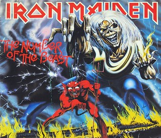"IRON MAIDEN THE NUMBER OF THE BEAST FRANCE 12"" / LP VINYL"