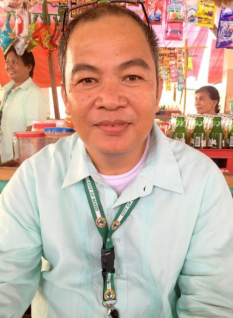 Bogo City Market Administrator Romeo B. Ursal