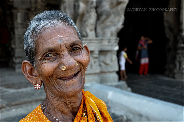 Smile from Thirukalukundram