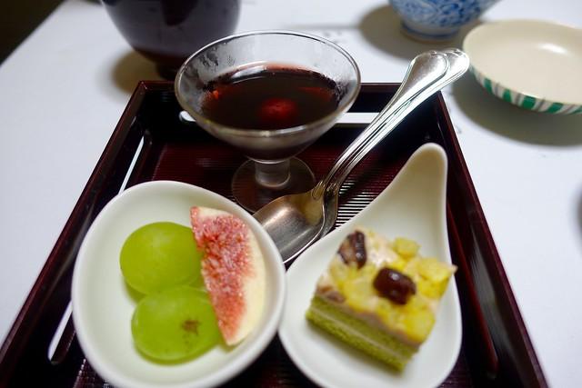 Photo:dinner:デザート @『ひなの宿 ちとせ』(新潟県十日町市松之山) By TOMODA