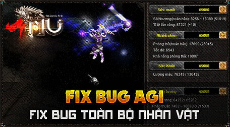 Muthanma.net - Open 14/10 - 45 bộ đồ mới Ex702, fix bug agi, auto reconnect