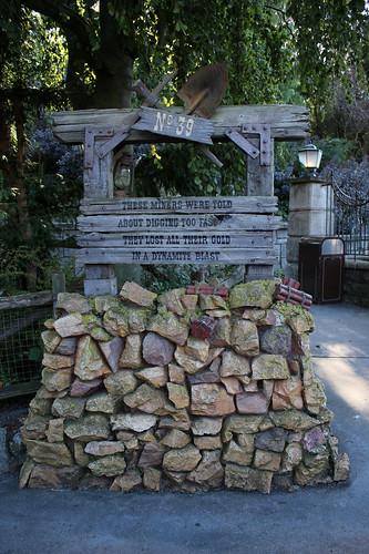 Miner's grave