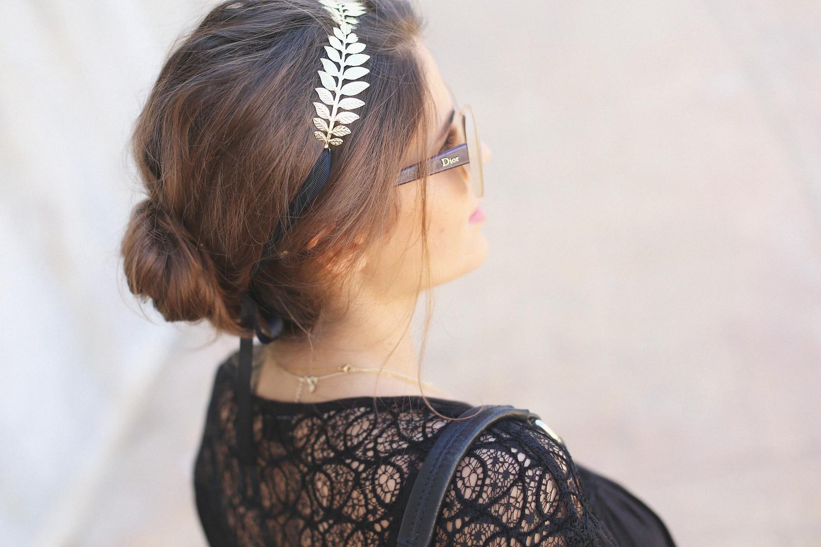 9.black boho top camel suede skirt gladiator sandals golden headband seams for a desire jessie chanes