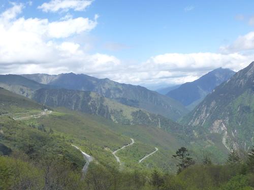 CH-Chengdu-Danba-route-Étape 2-Montée (10)