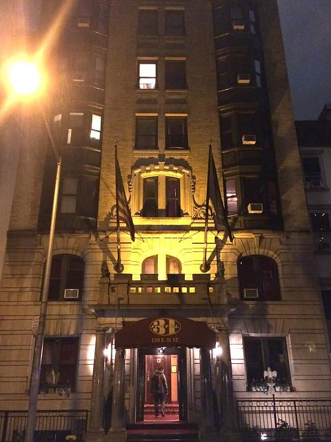 outside Hotel 31