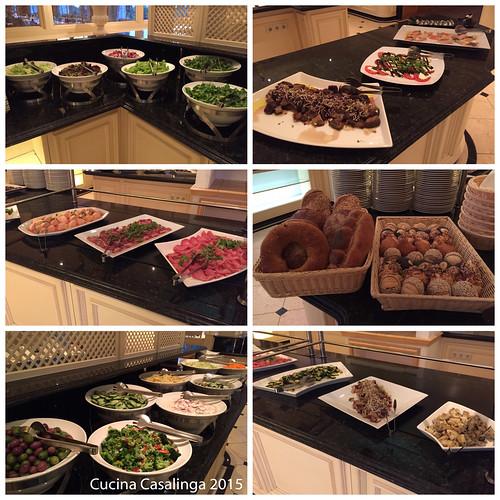 Interalpen Essen Abend Vorspeisen