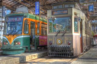 Tramcars at Kagoshima on OCT 24 (24)