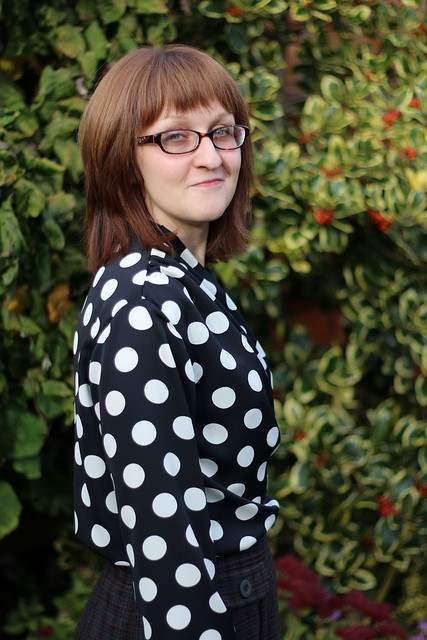 Sew Over It Anderson Blouse in Spotty Crepe