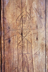 20150901_3965 Old Soar Manor - ancient graffiti