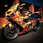 burn bike wrap