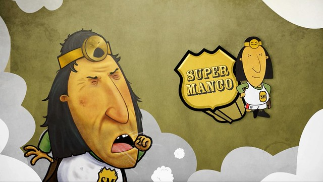 Super Manco presenta teaser de su nueva serie animada
