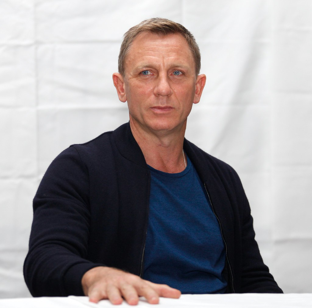 Дэниел Крэйг — Пресс-конференция «007: СПЕКТР» 2015 – 38