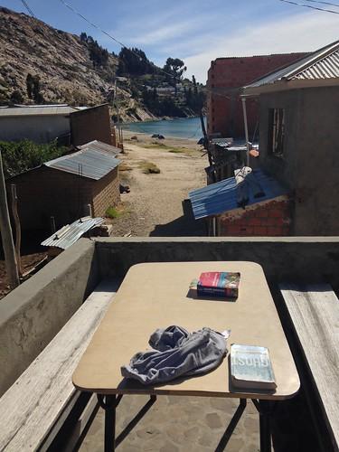 Hostal Cultural.  Isla del Sol. Bolivia.