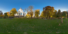 Katarina church Stockholm panorama 360x180