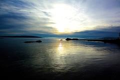 Lav sol på Huk