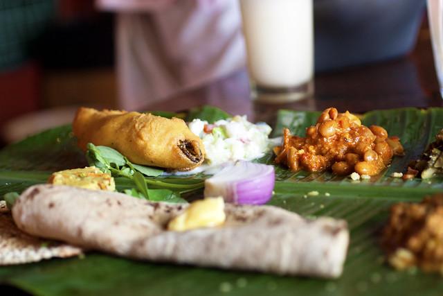 veg thali @ kamat