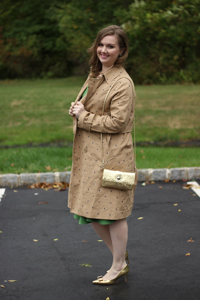 Vintage Dress and a Trench (6)