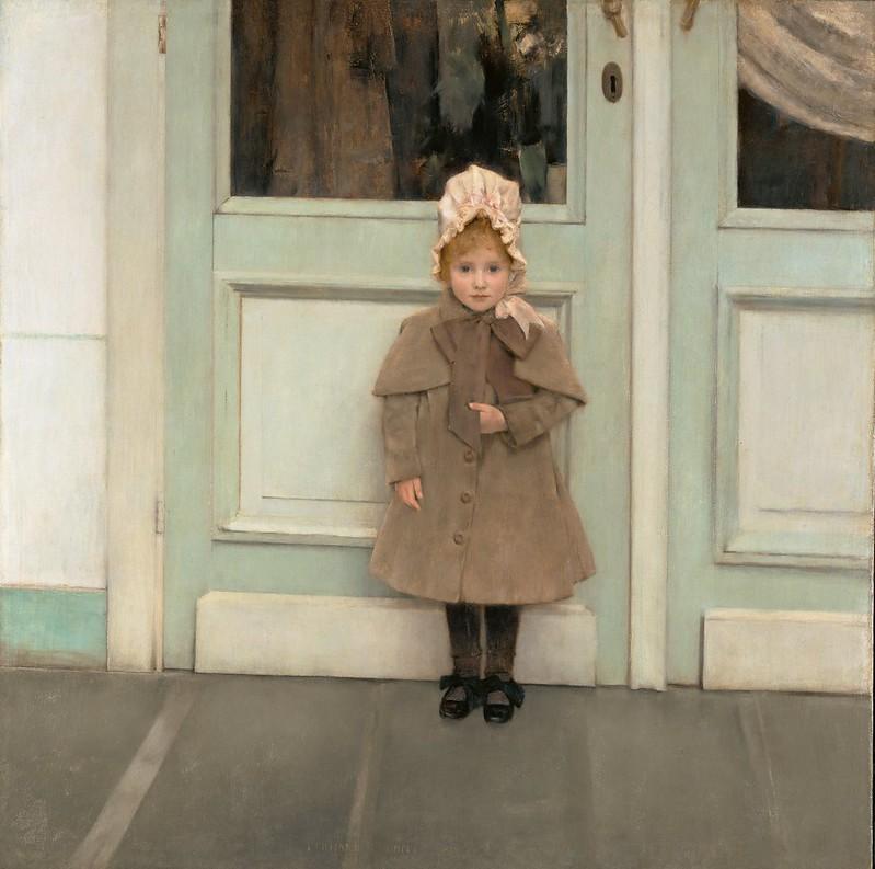 Fernand Khnopff - Jeanne Kéfer (1885)