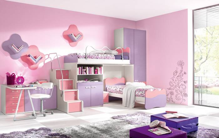 Kid Bedroom Furniture Bed