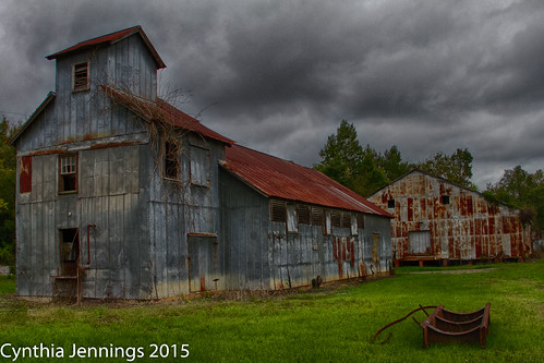 clouds georgia rusted oldmill tinroof bartow ipulledoverforthis