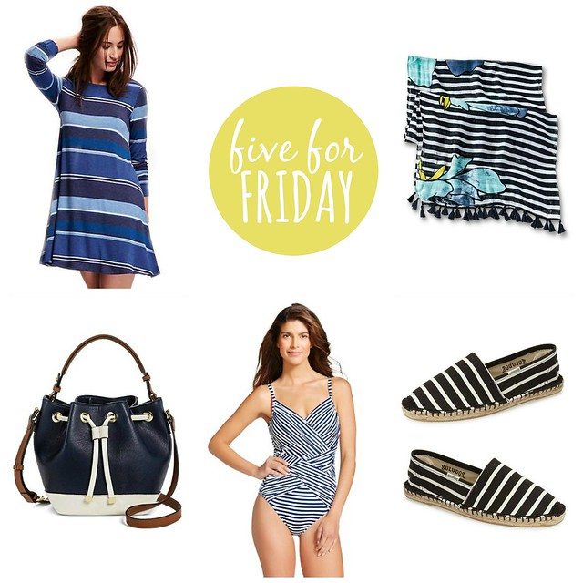 five for friday striped getaway