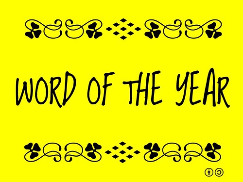 Buzzword Bingo: Word of the Year