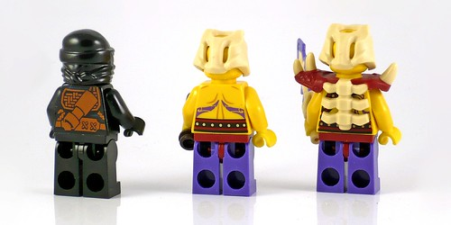 LEGO Ninjago 70747 Boulder Blaster figures02