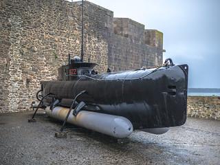 Sous-marin de poche S622 - 1944 (ancien sous-marin allemand de type Seehund S90