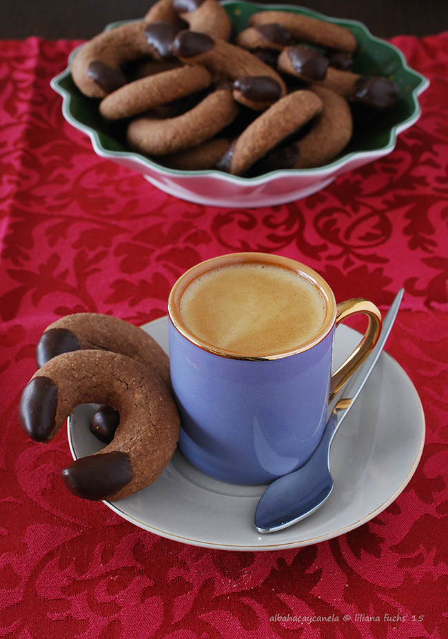 Schoko- Vanillekipferl