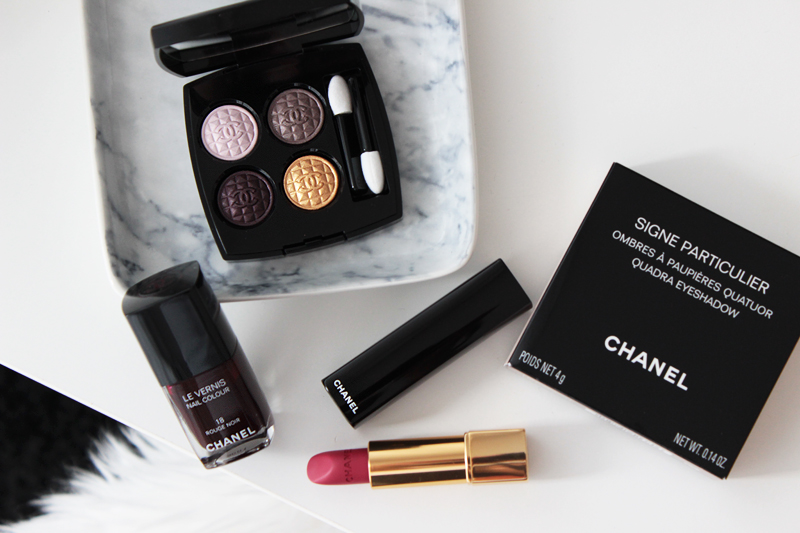 Chanel Rouge Noir Collection Winter 2015