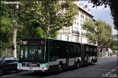 Man Lion's City G - RATP (Régie Autonome des Transports Parisiens) / STIF (Syndicat des Transports d'Île-de-France) n°4648