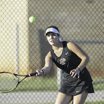 GHS Var Ladies Tennis vs CHS 10-12-2016 (EAW)