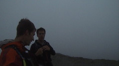 Getting dark on the ascent of Blencathra Image