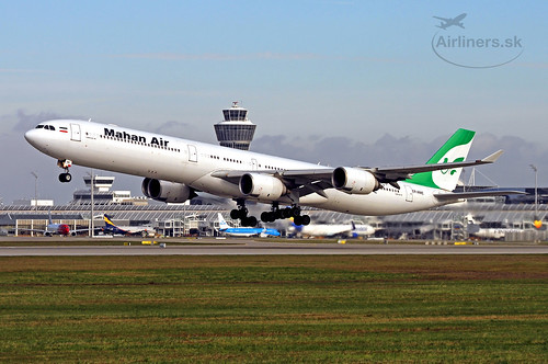 EP-MME Airbus A340-642