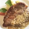GMCにて豚肩ロースのソテーマスタードソース。このソースめちゃうまい。家で作りたいのでイメージしながら食べた #japan #instafood #instagood #foods #pork #instatravel