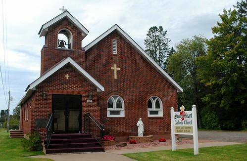Sacred Heart Catholic Church, Radisson Wisconsin